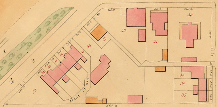 John Vardy, Plans of the Borough of St Kilda 1873, plan 5WW