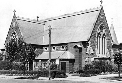 Holy Trinity from Brighton Road ca.1930