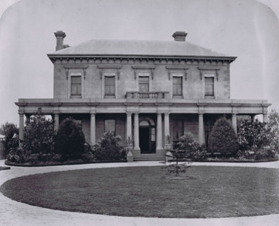 Residence of Thomas Alston Esq. J.P ca 1872