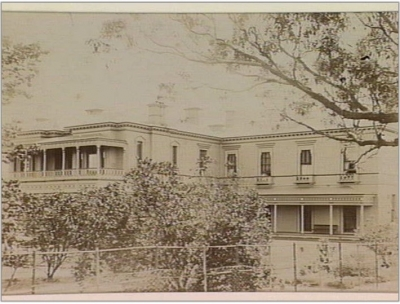 """Corinella"", St. Kilda [home of] G. H. Baird, esq.""Corinella"", St. Kilda [home of] G. H. Baird, esq."