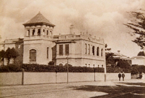View from Acland Street ca. 1900