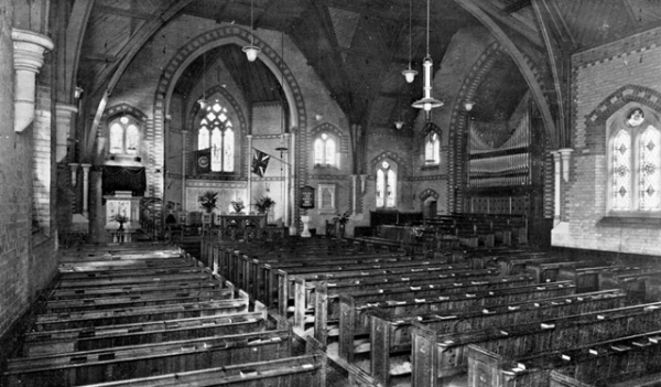 Interior view ca. 1926